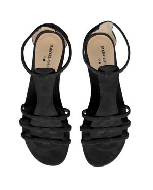 D~LuxeList: Marais USA | Spring 09 | Crosby Sandal :  black sandals spring 09 summer 09 spring summer 09