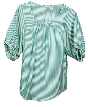 D~LuxeList: Steven Alan Dalia Striped Silk Blouse